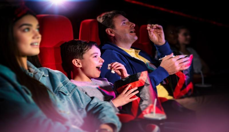 Cineworld Family Visit at Queens Links Aberdeen