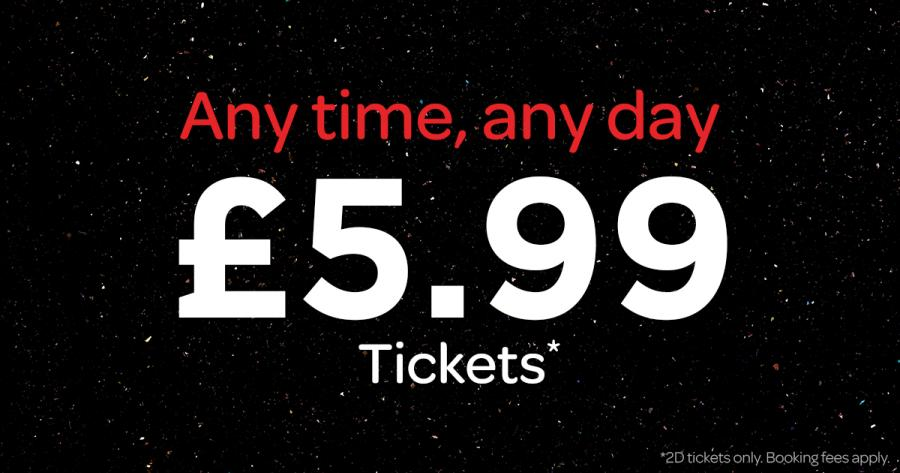 Cineworld Tickets Offers Now On