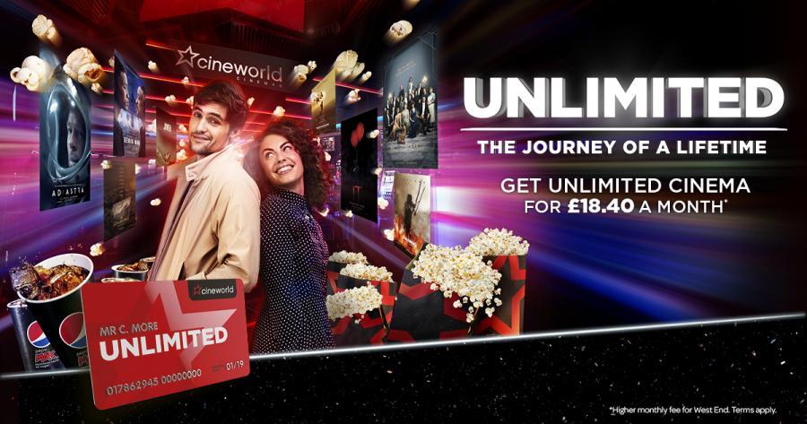Cineworld Unlimited | Queens Link Aberdeen